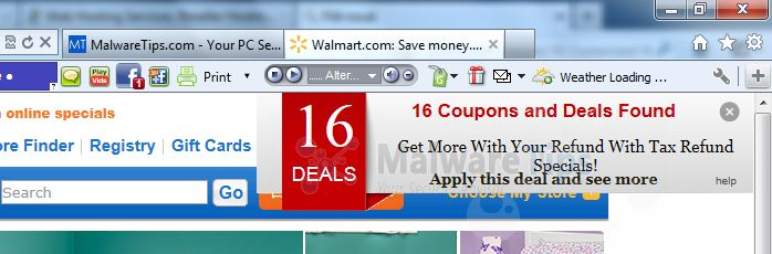 [Image: Coupon Buddy virus]