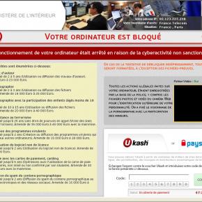 [Image: Police & Gendarmerie Nationale Ukash scam]