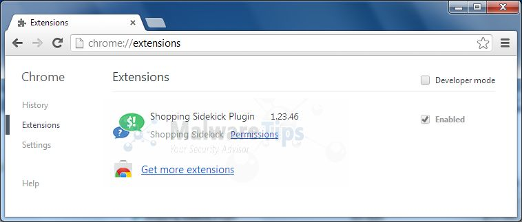 Chrome extension for coupons