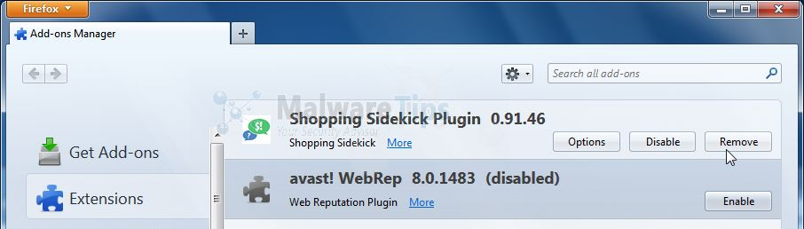 [Image: Shopping Sidekick Chrome extension]