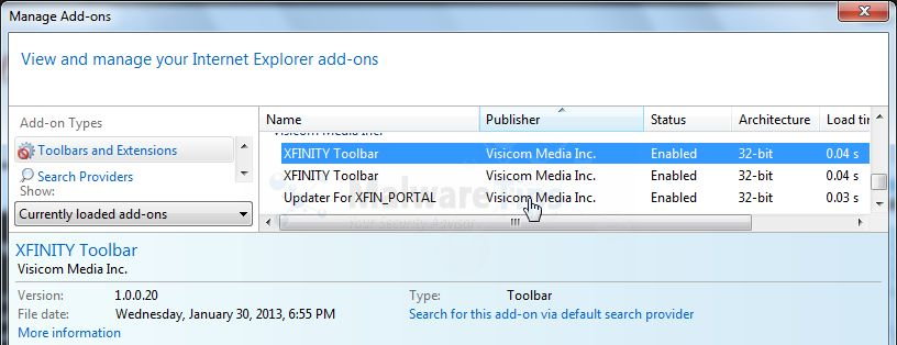 How to get rid of xfinity toolbar virus removal guide.