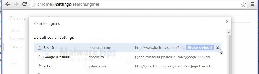 [Image: BasicServe Chrome redirect remvoal]
