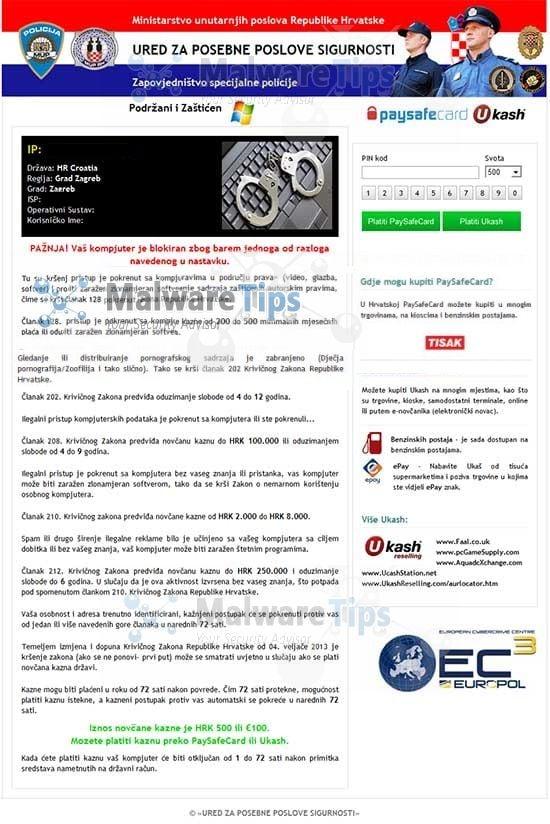 [Image: Ured Za Posebne Poslove Sigurnosti virus]