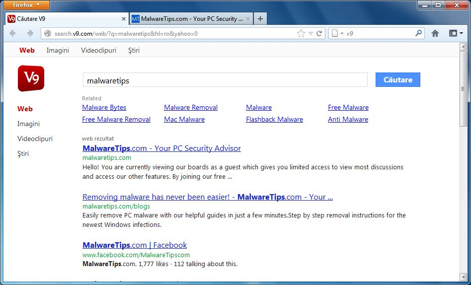 [Image: search.v9.com virus]