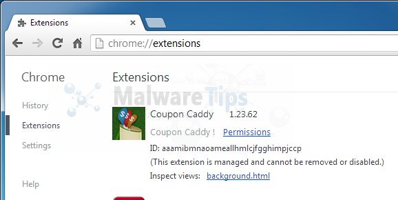 [Image: Coupon Caddy Chrome extension]