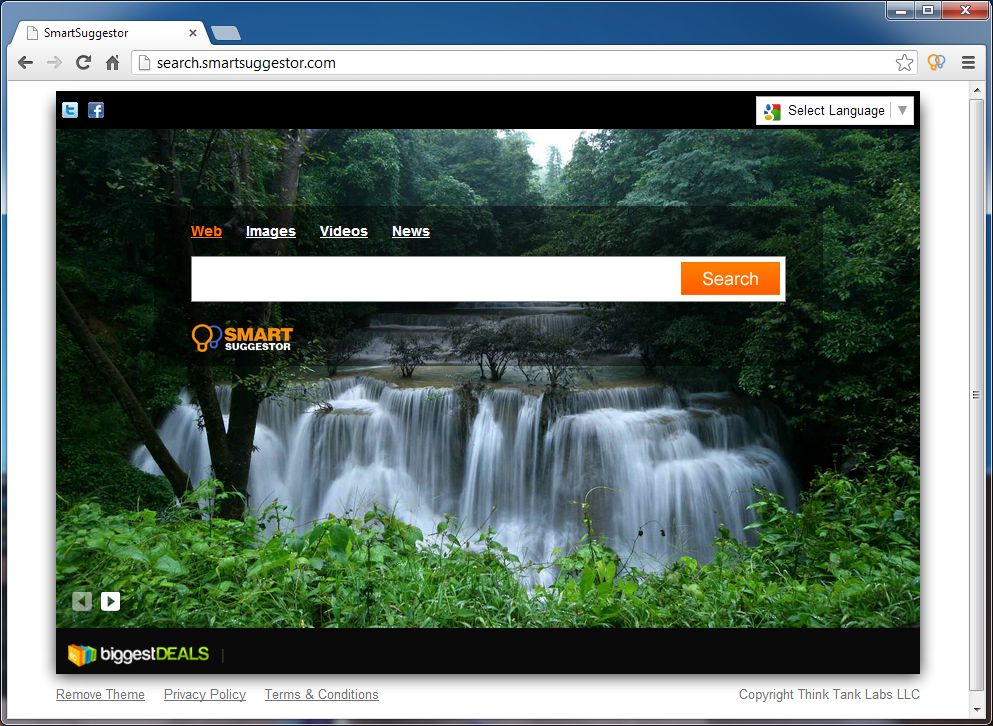 Remove search.smartsuggestor.com (Uninstall Guide)