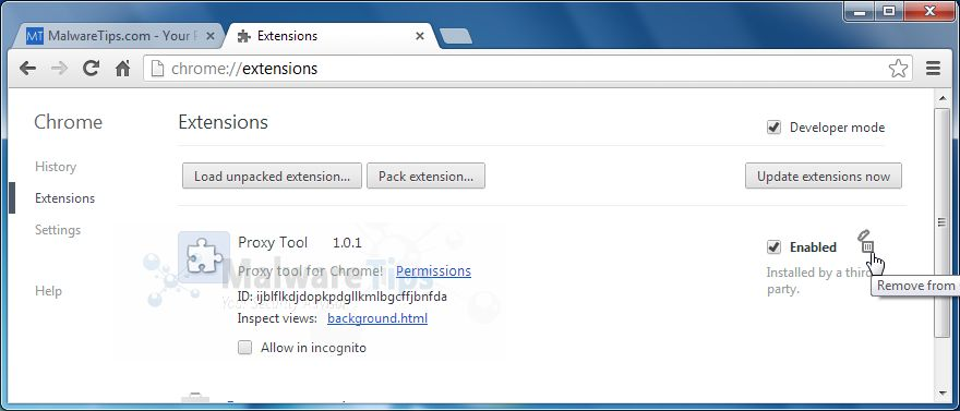 [Image: V9 Homepage Chrome extensions]