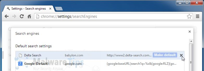 [Image: www2.delta-search.com removal]
