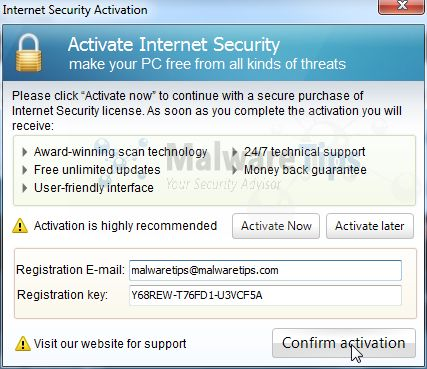 [Image: Internet Security 2014 Activation Key]