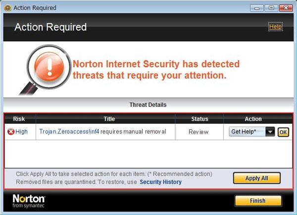 [Image: Trojan.Zeroaccess!inf4 (Norton)]