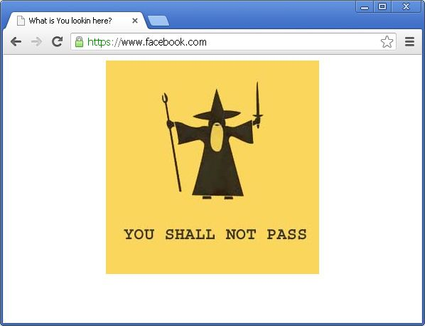 [Image: You shall not pass virus]