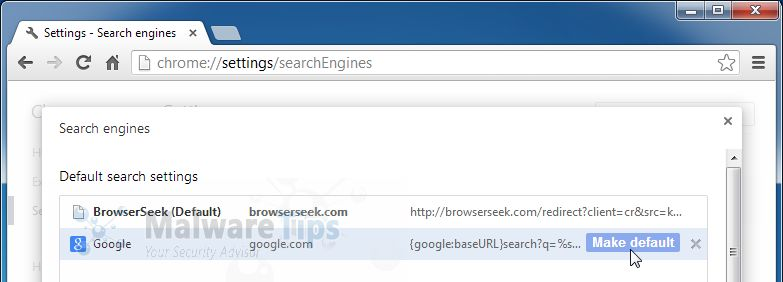 how to change default browser when clicking on links
