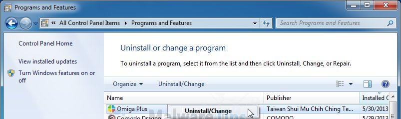 [Image: Uninstall Qone8 programs]