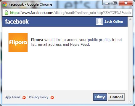 [Image: Flipora Facebook Spam]