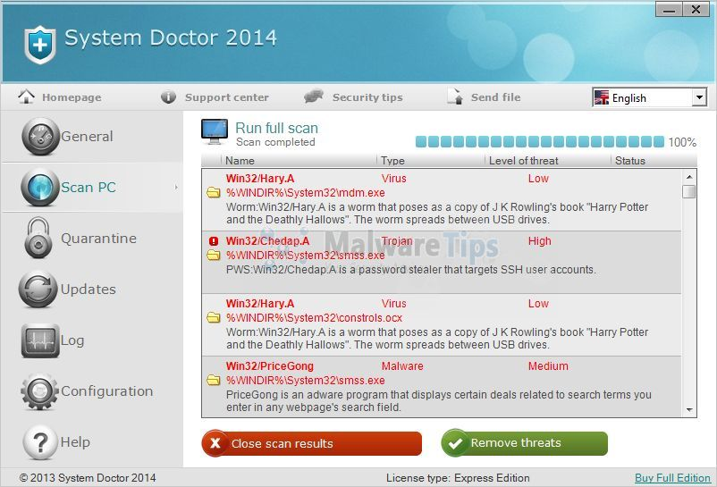 [Image: System Doctor 2014 virus]