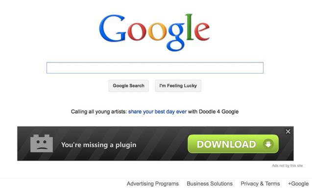 [Image: Browser Adware virus]