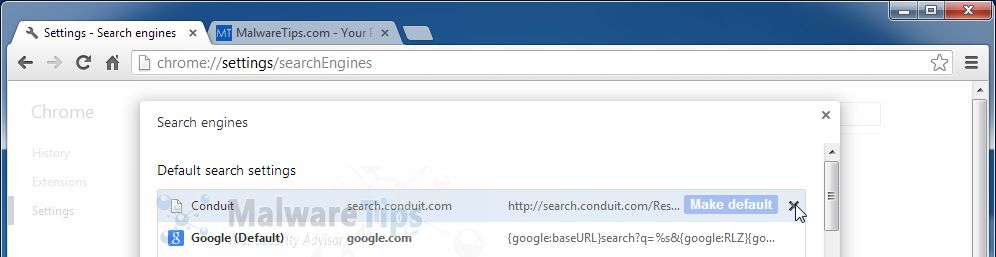 [Image: Conduit Search Chrome removal]