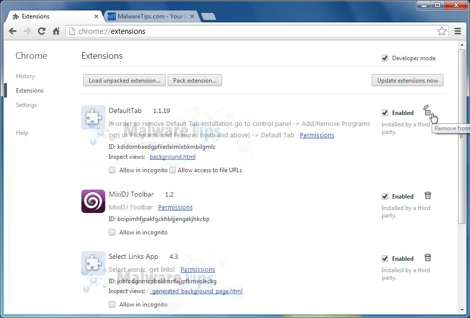 [Image: Inksdata Chrome extensions]