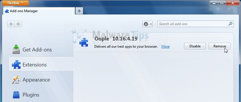 [Image: Oople Toolbar Firefox extension]