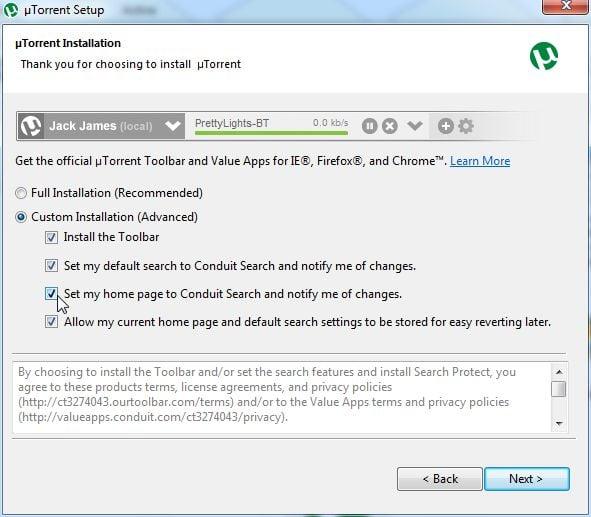 Remove Utorrent Toolbar Uninstall Guide