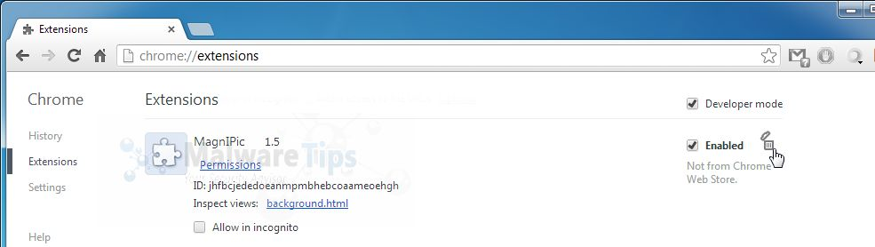 [Image: Defaultsear.ch Chrome extension]