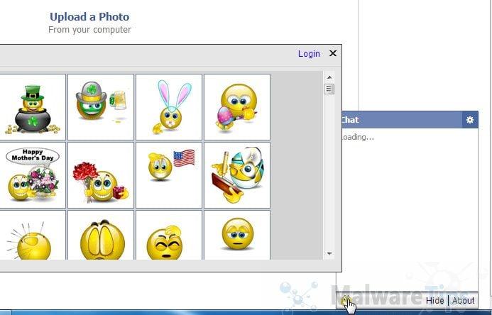[Image: Smileys We Love Facebook Chat]