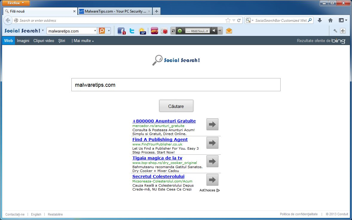 How to remove Social Search Toolbar (Uninstall Guide)