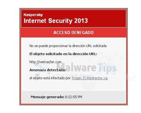 Remove Trojan.JS.Redirector.xa virus (Removal Guide)