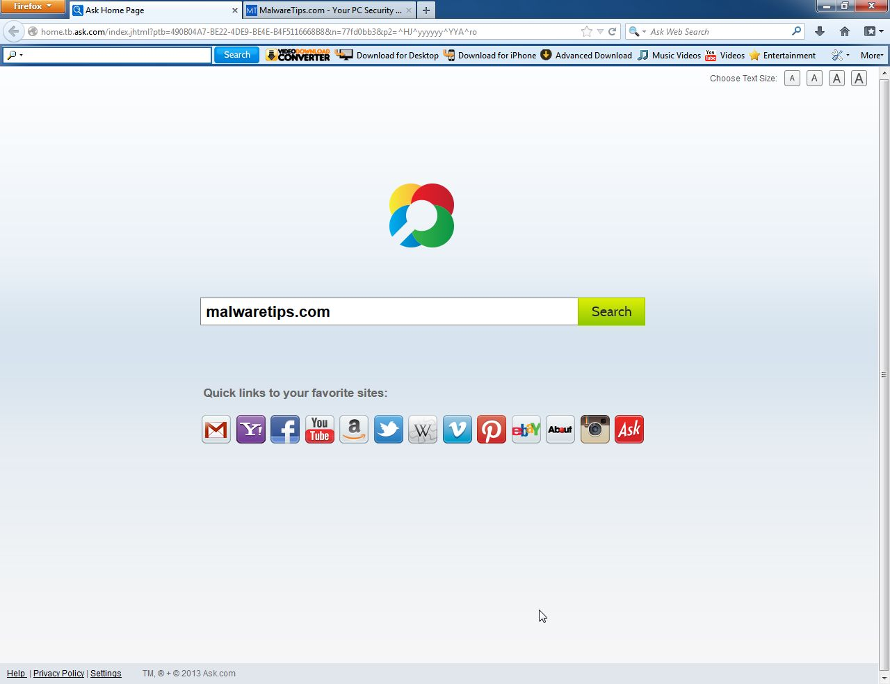 [Image: Video Download Converter Toolbar]