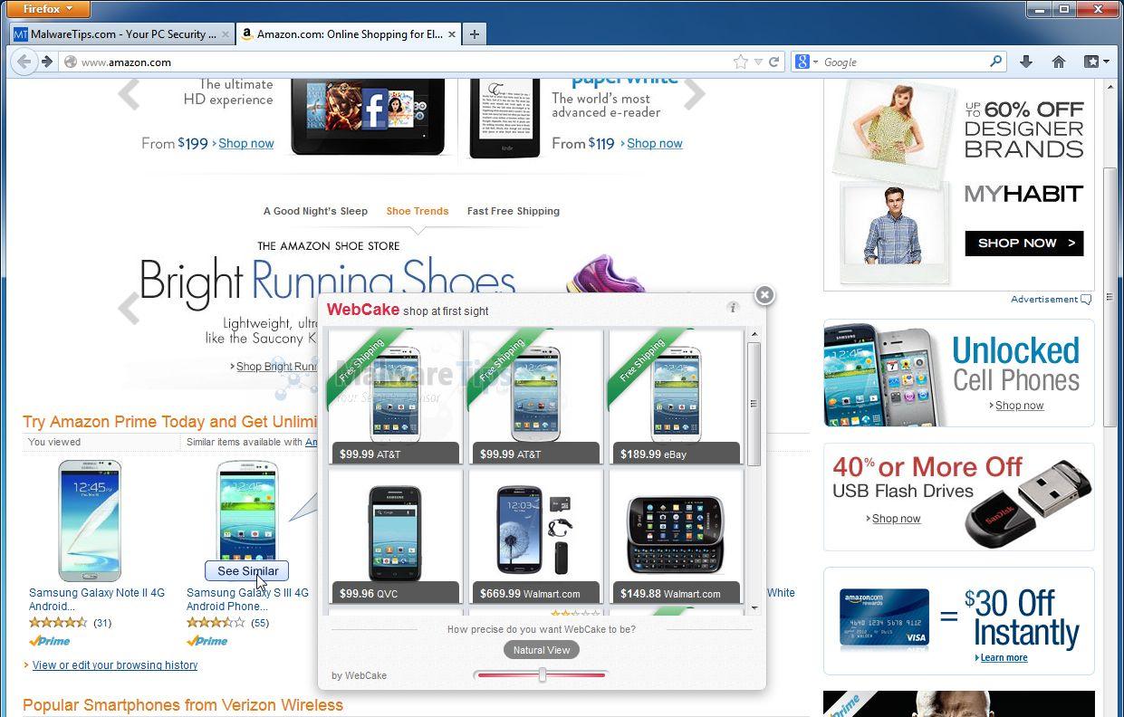[Image: WebCakeDesktop.Updater.exe adware]