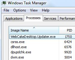 [Image: WebCakeDesktop.Updater.exe virus]