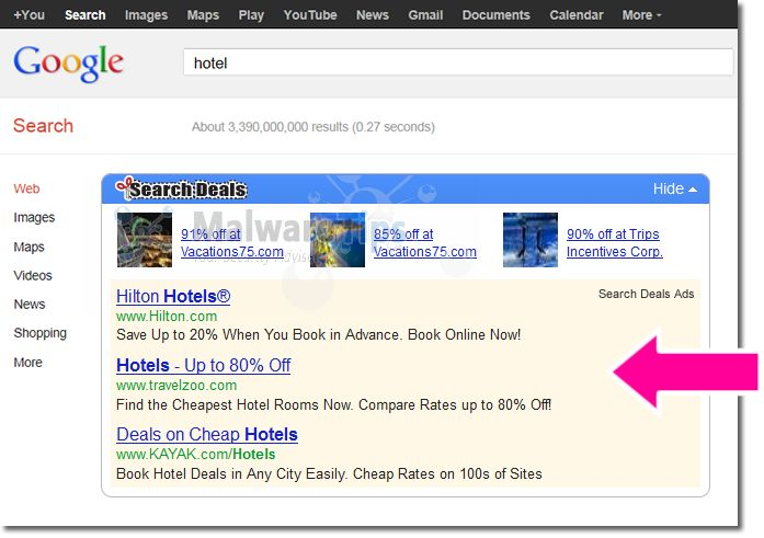 [Image: Search Deals ads on Google]