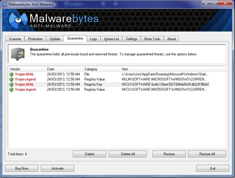 how to remove trojan msil malware  virus removal guide
