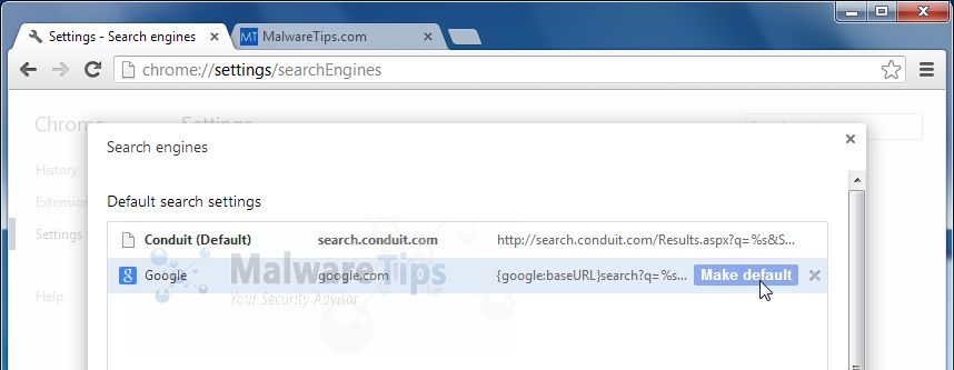 [Image: Xvidly1 Search Chrome redirect]