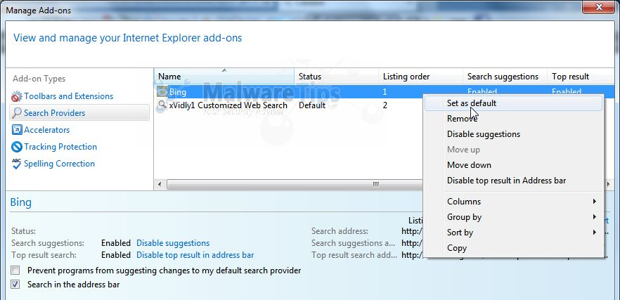[Image: Xvidly Search1 Internet Explorer]
