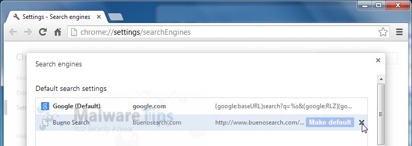 [Image: Bueno Search Chrome removal]