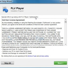 [Image: FLV Player virus]