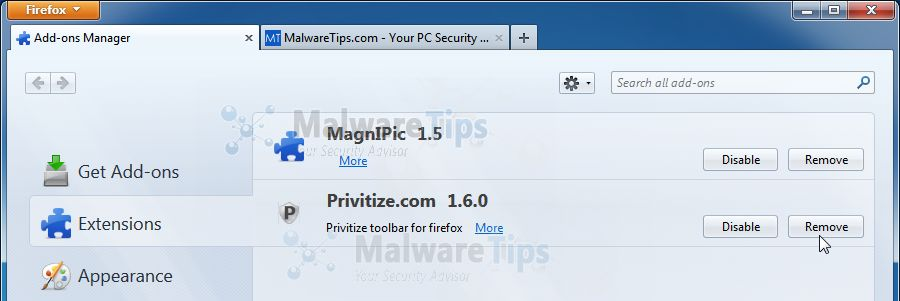 [Image: MagniPic Firefox extension]