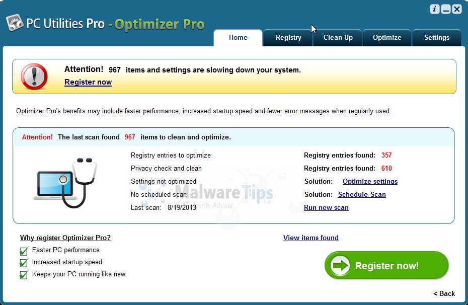 [Image: PC Utilities Pro - Optimizer Pro]