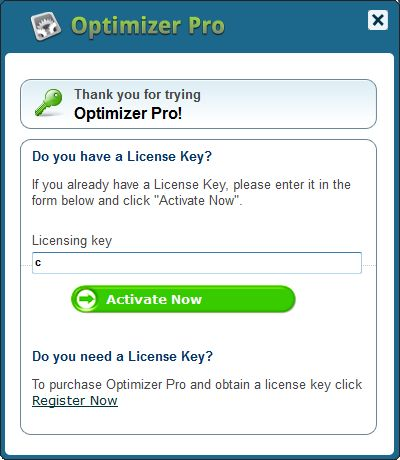 PC Utilities Pro - Optimizer Pro license key