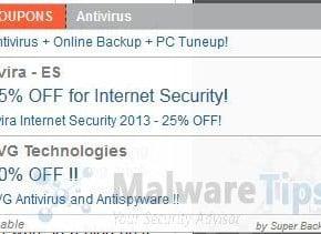 [Image: StrongVault popup virus]
