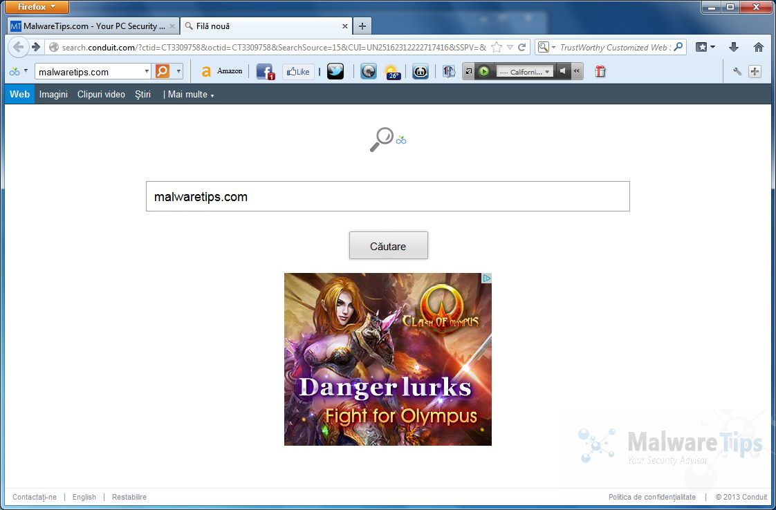 Remove TrustWorthy Toolbar (Removal Guide)