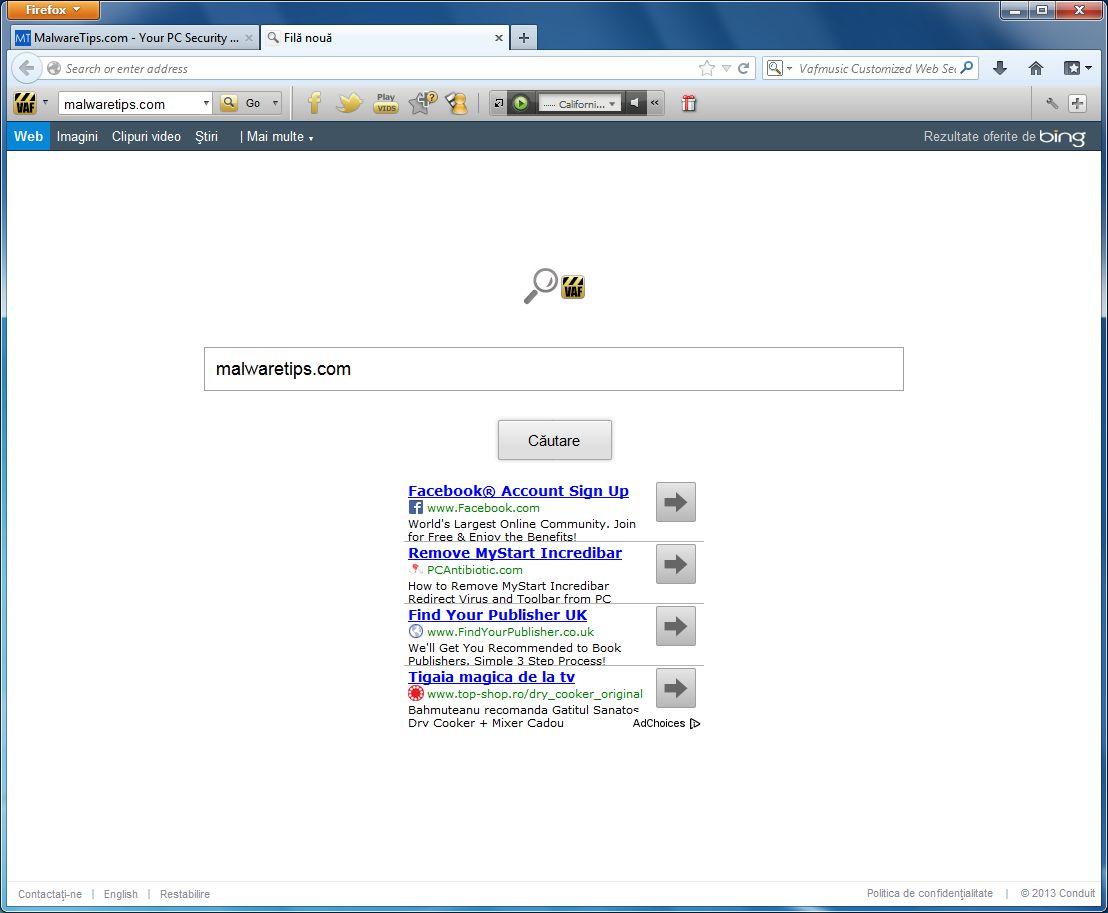 [Image: VAF Toolbar virus]