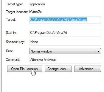 [Image: Antivirus Security Pro 2014 malicious files path]