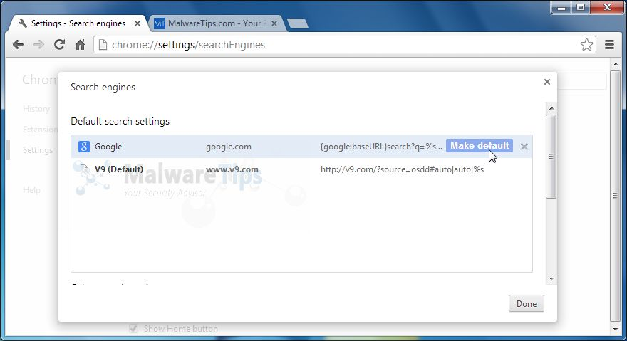 [Image:Safe.v9.com Chrome hijack]