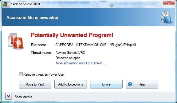[Image: Adware Generic virus]