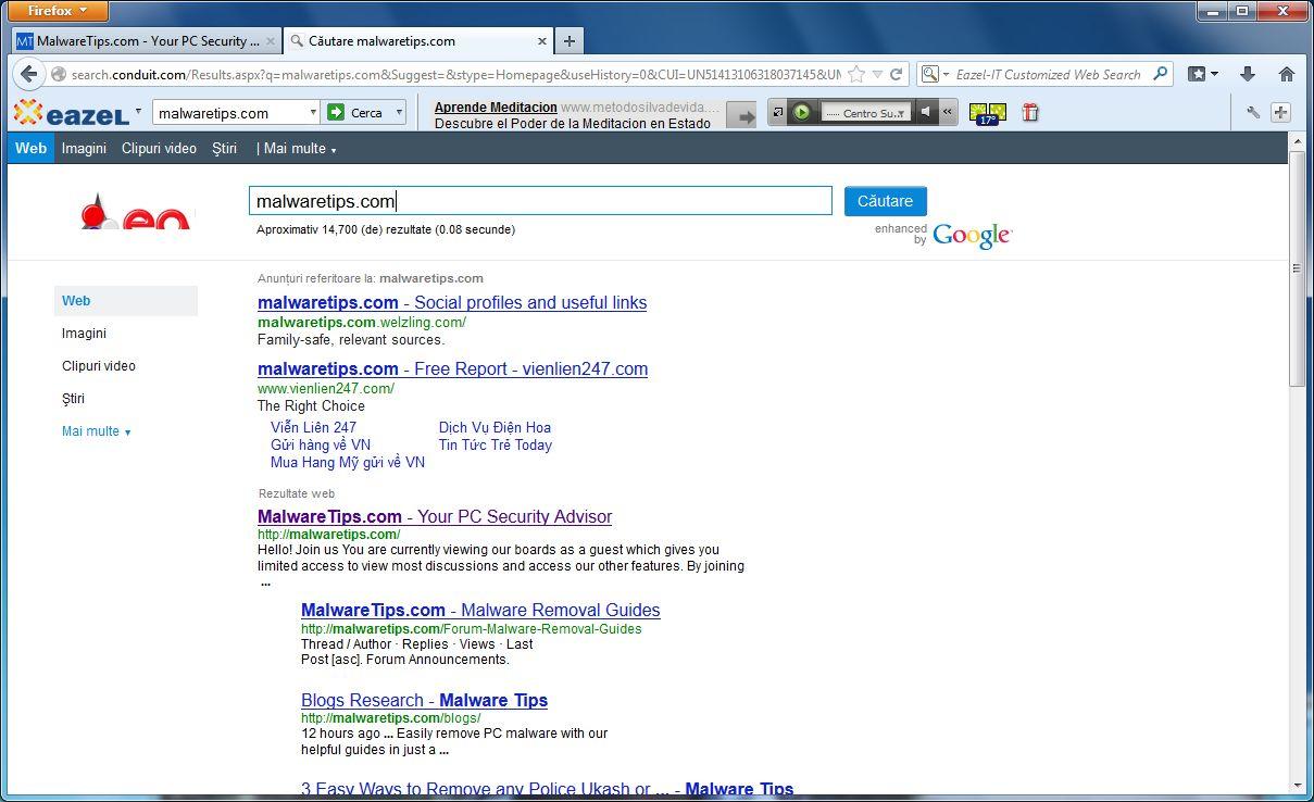 [Image: Eazel Customized Web Search]