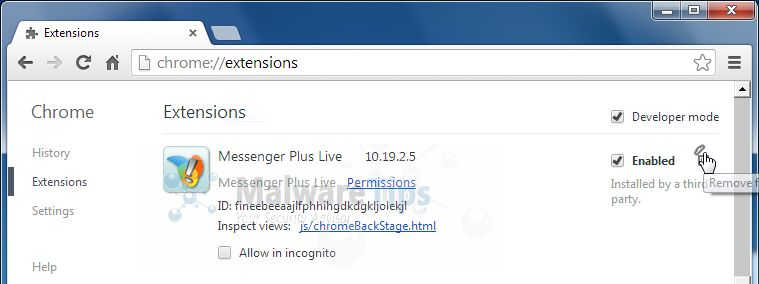 [Image: Messenger Plus Toolbar Chrome extension]