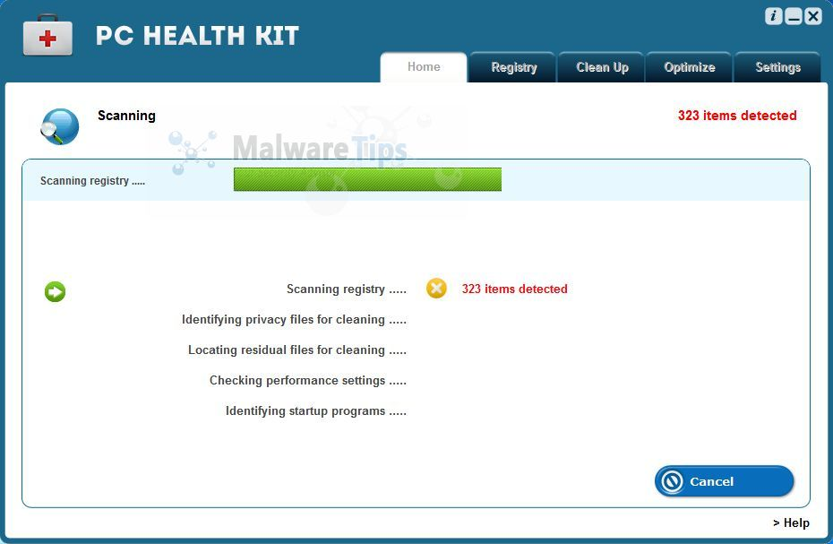 [Image: PC Health Kit virus]