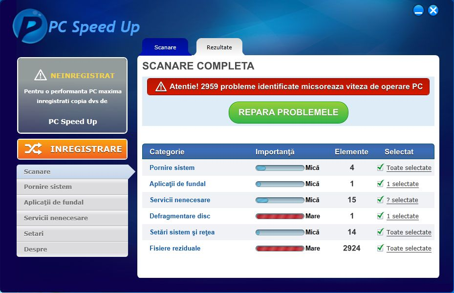 [Image: PC Speed Up malware]